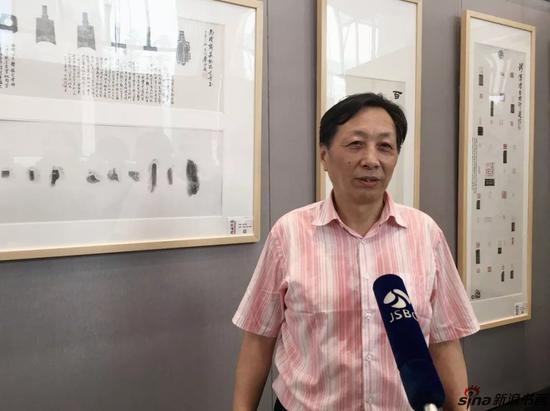 参展艺术家-钱汉璞-接受JSBC采访