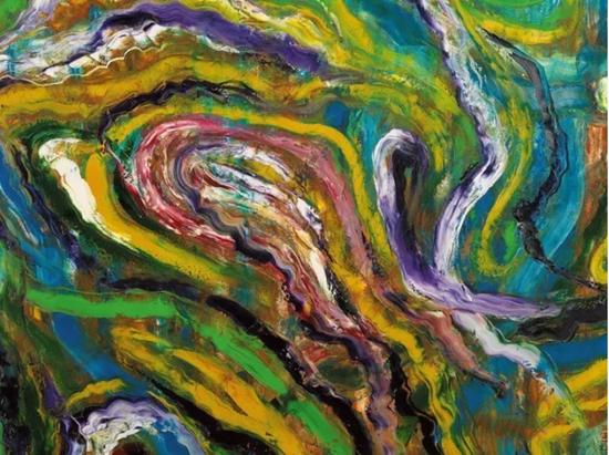 春回大地 150cm*180cm 布面油画 2014