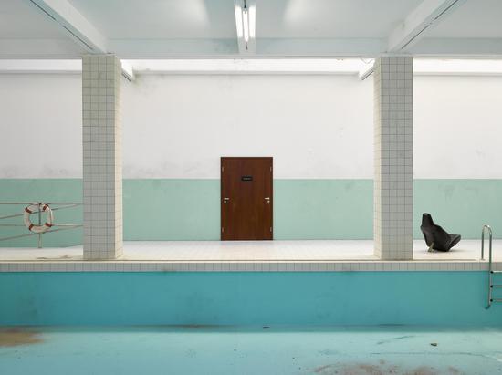 Elmgreen & Dragset The Whitechapel Pool 2018 mixed media dimensions variabl