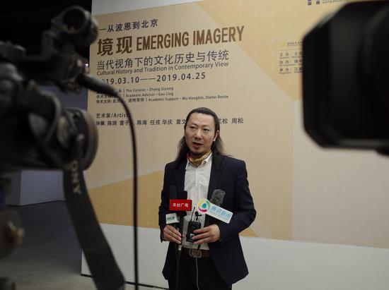策展人、汉威国际艺术中心馆长张思永