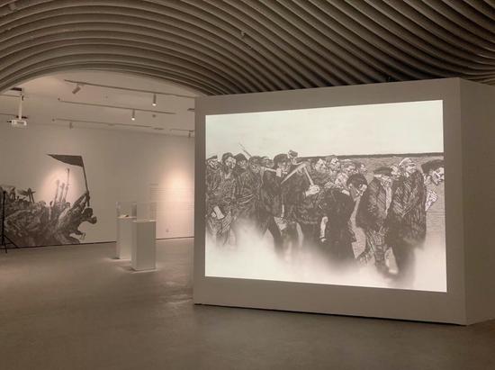 凱綏.珂勒惠支經典作品展在億達時代美術館開幕