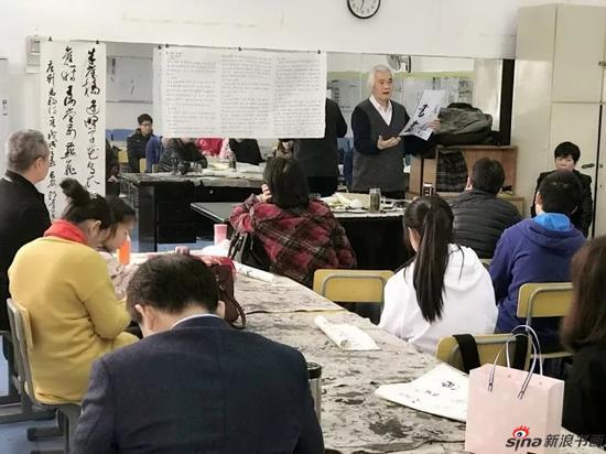 郭达老师为学员们授课