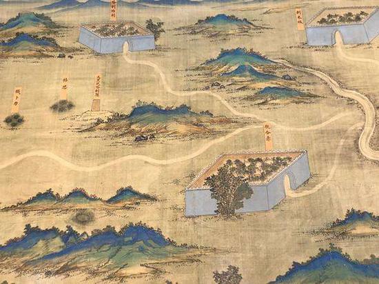 《丝路山水地图》三件复制品分别进入三大博物馆展览