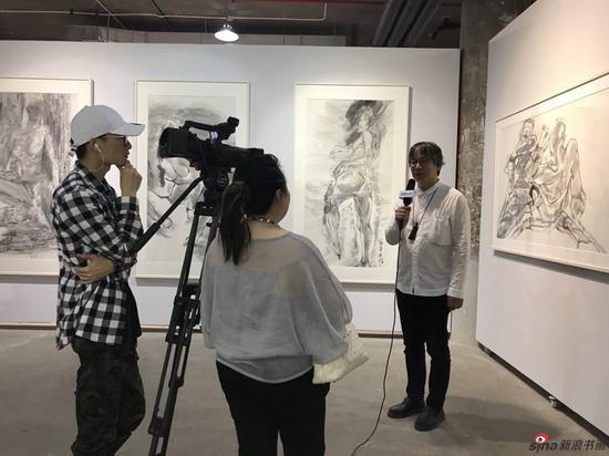 《墨力序列——2018王恬水墨作品艺术展》隆重开幕