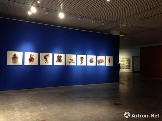 """""""第二届长江国际影像双年展""""展览现场"""