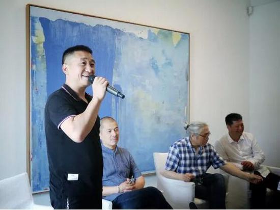 浙江大管家物业董事长李一文致辞