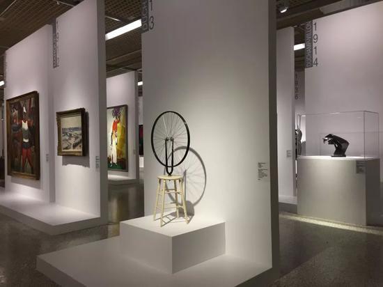 蓬皮杜现代艺术大师展(上海展览中心)