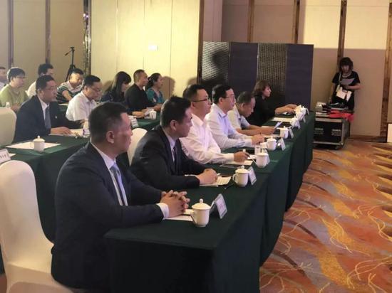 深圳文交所新疆运营中心企业推荐会活动现场