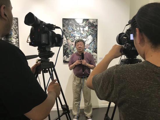 王小箭接受记者专访
