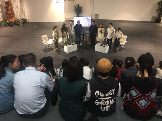 """M花园:张丹个展"" 展览开幕现场"