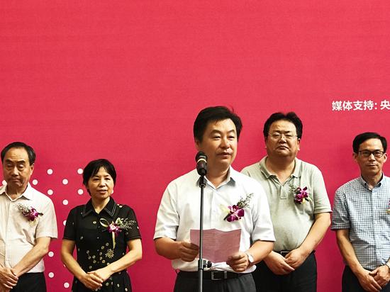 宁波市文联党组书记王晓勇致辞
