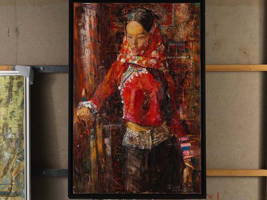 53《惠安女》雷小洲 120cm×90cm 布面油画 2017年