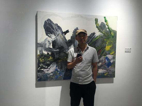 艺术家 徐晨阳 接受媒体采访