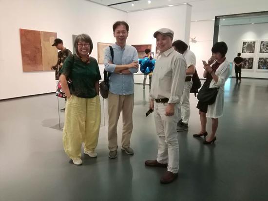 左起:姜雪鹰、陈九、许德民。