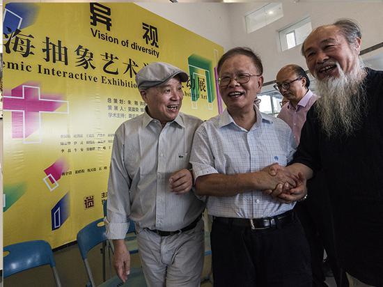 左起:许德民、龚学平、周斌、王克良。