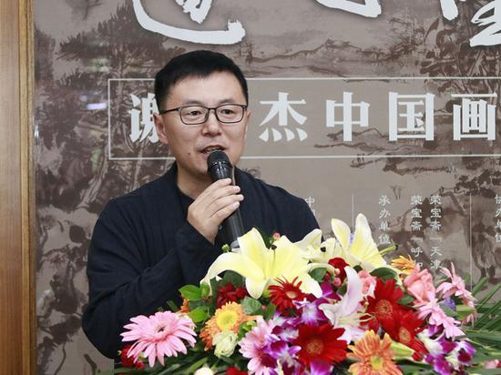 王彬先生致辞