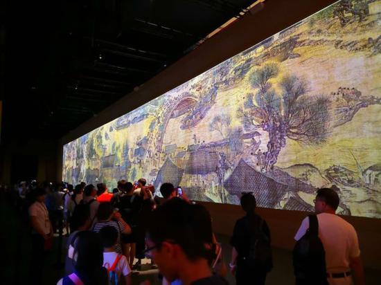 《清明上河图3.0》展览现场