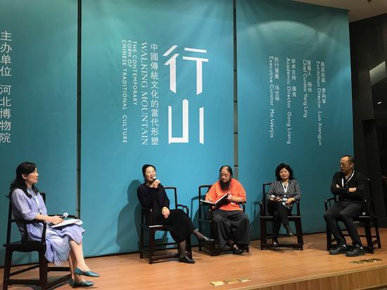 南京博物院副院长刘文涛发言