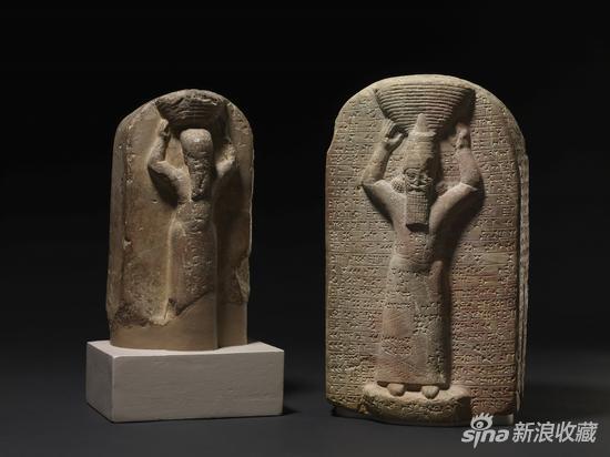 Shamash-shumu-ukin and Ashurbanipal(圖片來自大英博物館)