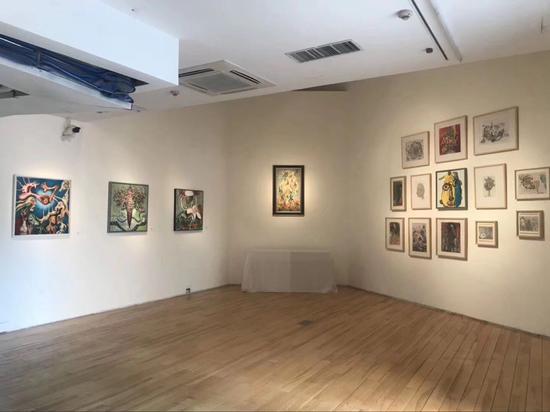 界外艺术展览现场