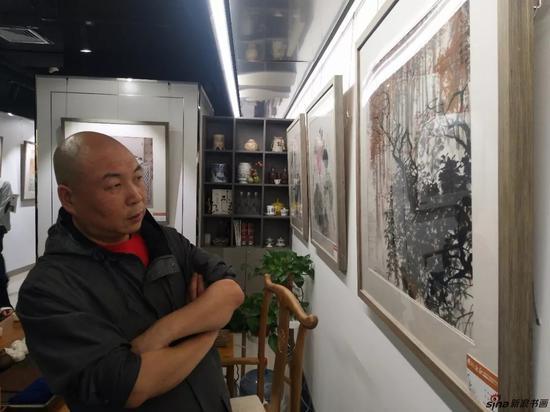 南京市花鸟画研究会理事、荔枝艺术馆馆长田步石先生