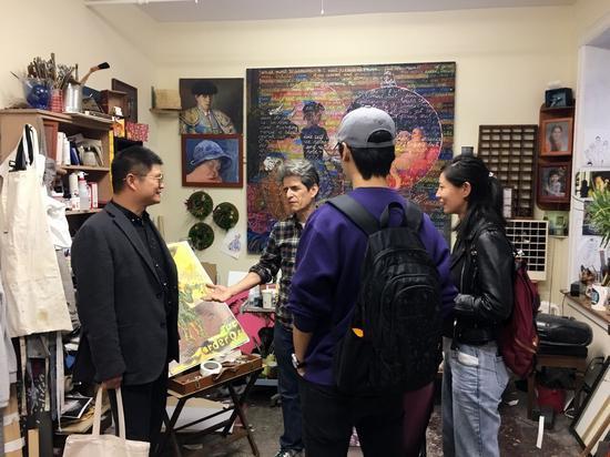 王清州个展(纽约-2018)WANG QINGZHOU SOLO EXHIBITION