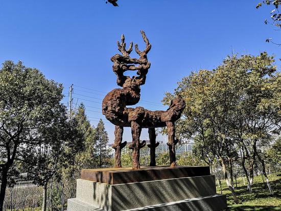 优秀奖:潘松《朴系列-鹿》