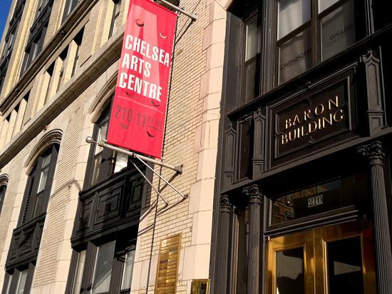纽约曼哈顿切尔西画廊区Walter Wickiser画廊大楼