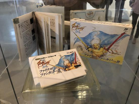 80年代发行的最终幻想初代FC游戏卡