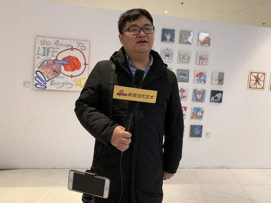 评委李国华(评论家、独立策展人,北京观唐文化艺术家沙龙负责人)