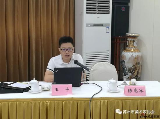 中国国家画院艺术信息研究中心主任王平研究员授课
