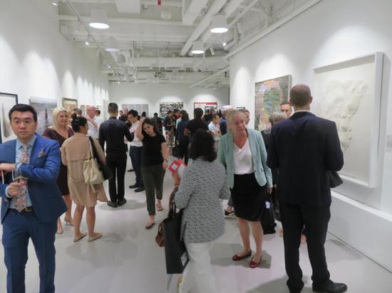 SAF基金会 杰出艺术家奖2019入围艺术家展 香港 展览开幕现场