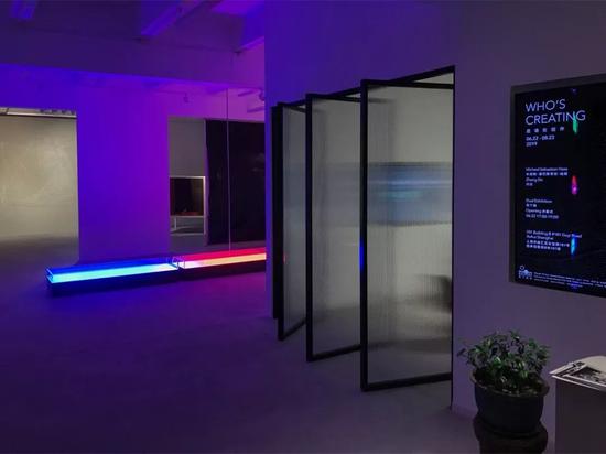 《是谁在创作 Who's Creating》展览现场,图片由量子画廊提供