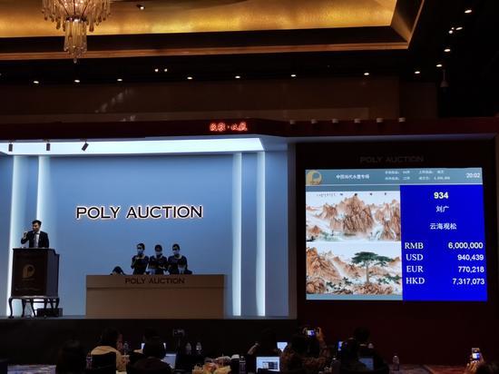 保利春拍劉廣作品專題以1571萬全部成交