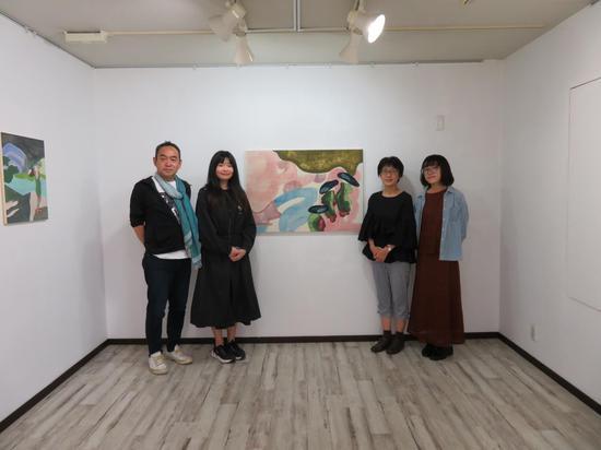 現場| 日本藏家 加藤先生和藝術家雨夜來
