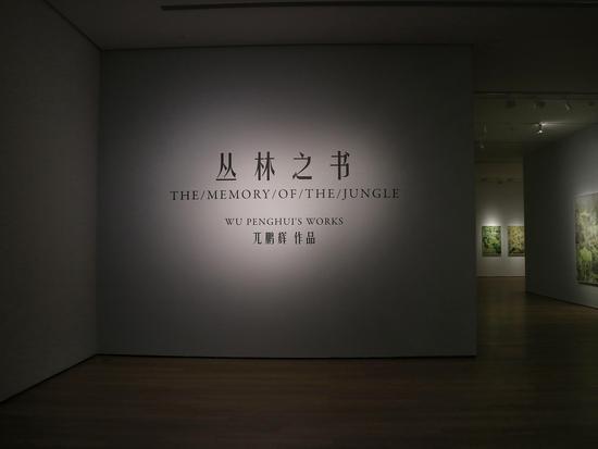 兀鹏辉作品展亮相言午画廊