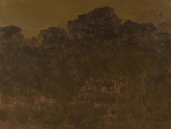 22《暖色山峦之四》徐福厚 150cm×200cm 布面油画 2017年