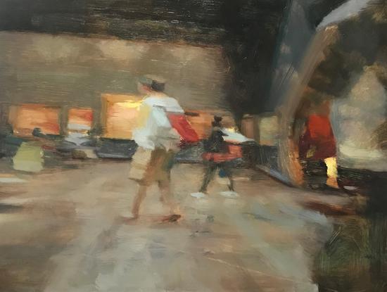 魏山人《相非相no.2》60x80cm,布面油画,2018年