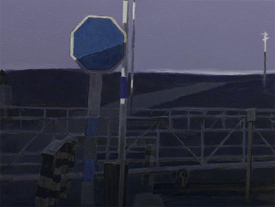 68《北纬38度系列》 梁宇 90×120cm 布面油画 2013