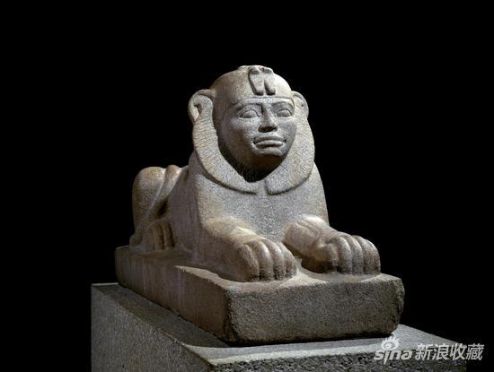 Granite sphinx(圖片來自大英博物館)