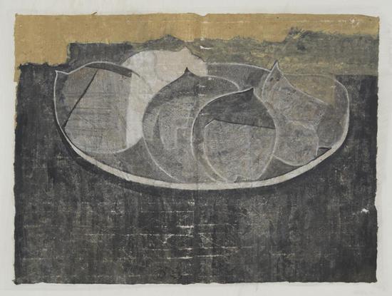 李涛 黑白日记2 纸本水墨 60×45cm 2018