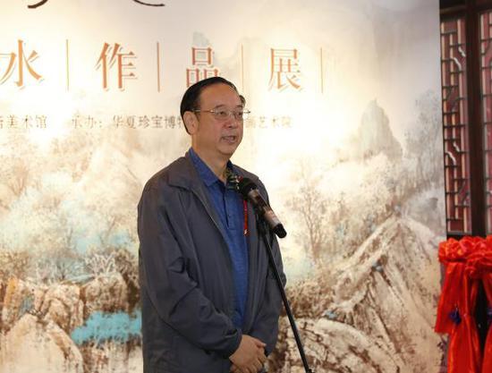 原人民美术出版社社长常汝吉