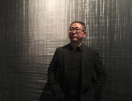 艺术家张朝晖