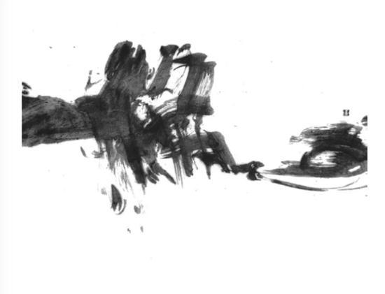 魏宝荣 ,《一条心》,70cm×135cm,1991年