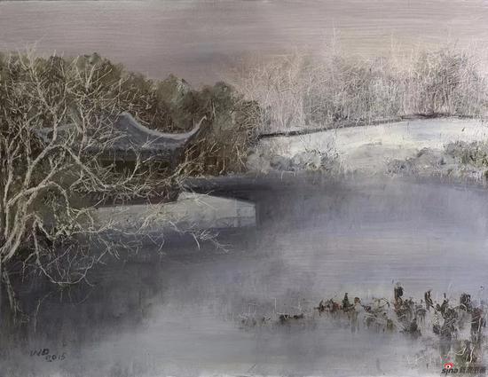 刘伟冬《园林之三》