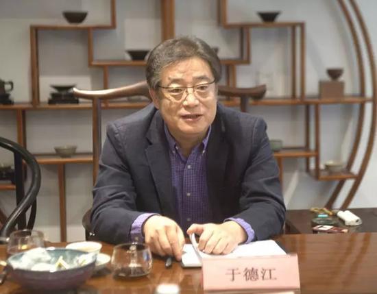 于德江董事长向国家信息中心领导汇报工作