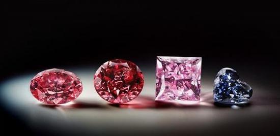 彩色钻石有多少种颜色你知道吗?