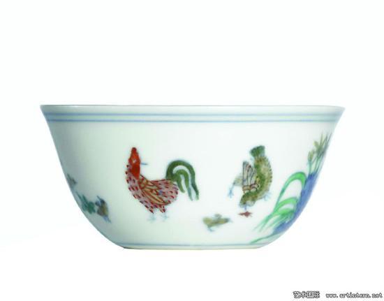 """拍卖场上的拣漏 鸡缸杯成就""""神话"""""""