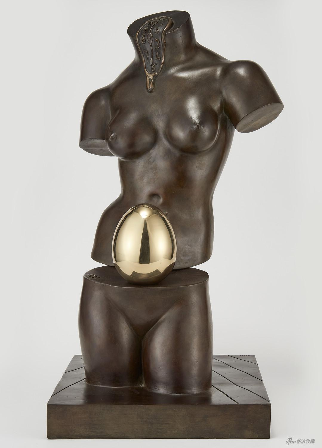 《维纳斯》,萨尔瓦多・达利,铸铜,来自纽约佛瑞曼