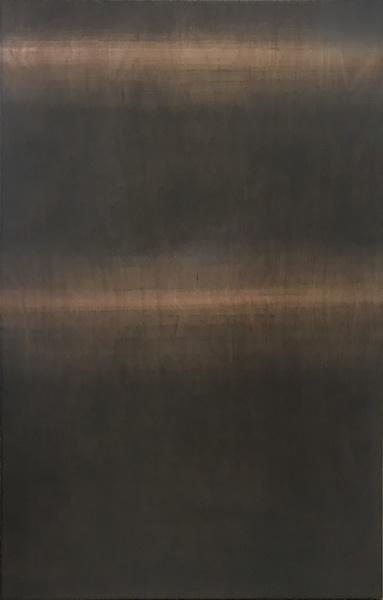 张震宇,《dust180629》,180cmx120cm,dust on board,2018